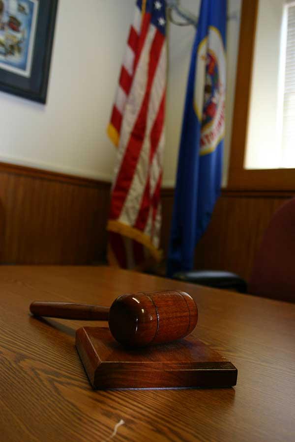 Madelia City Hall gavel