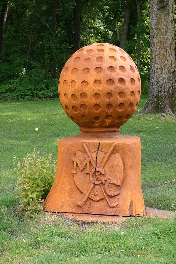 Madelia Golf Course sculpture