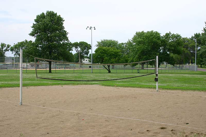 Madelia Park volley ball court