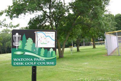 Madelia Watona Park Disc Golf