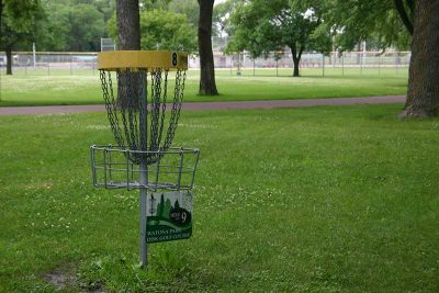 Madelia Watona Park Disc Golf hole 8