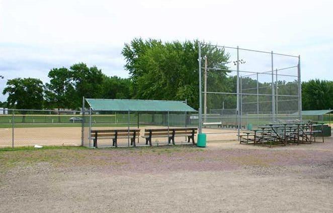 Madelia park baseball field