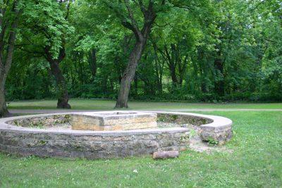 Madelia park firepit